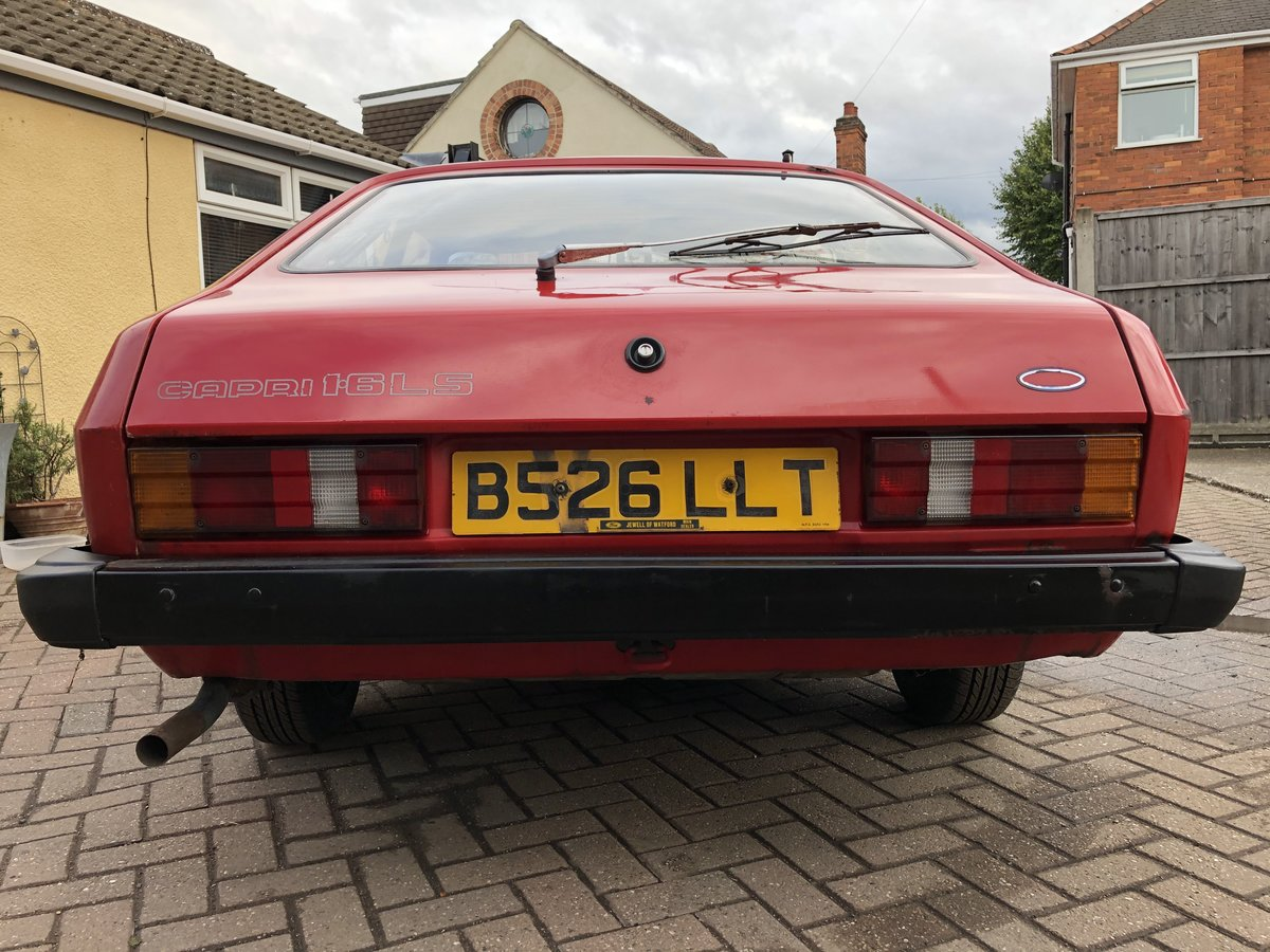 1984 Ford Capri 1.6 LS Mk3 SOLD (picture 3 of 6)