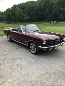 1965 Ford Mustang Convertible (Jefferson City, TN) $27,500