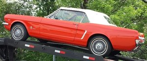 1965 Mustang Convertible Brilliant Located in Chester For Sale