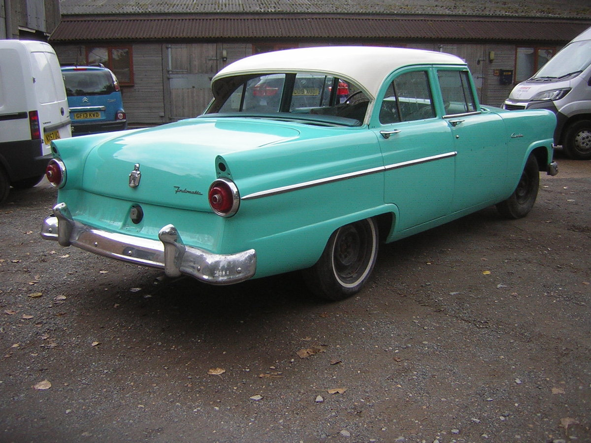 1955 Ford Customline V8  For Sale (picture 2 of 6)
