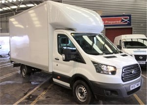 2017 - 67 Ford Transit 2.0TDCi 350 ( 130 BHP ) LUTON LWB WIT For Sale