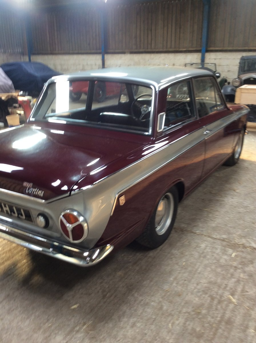 1966 Excellent ford cortina 1500 GT 2 door For Sale (picture 2 of 6)