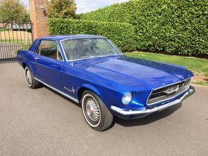 MUSTANG 289v8 - 1967 - BLUE (NOT FASTBACK) -