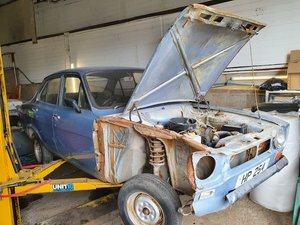 1973 Ford Escort MK1 avo type 49 4 door