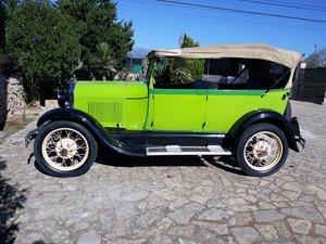 1929 RHD - Ford A Phaeton 4 doors cabriolet