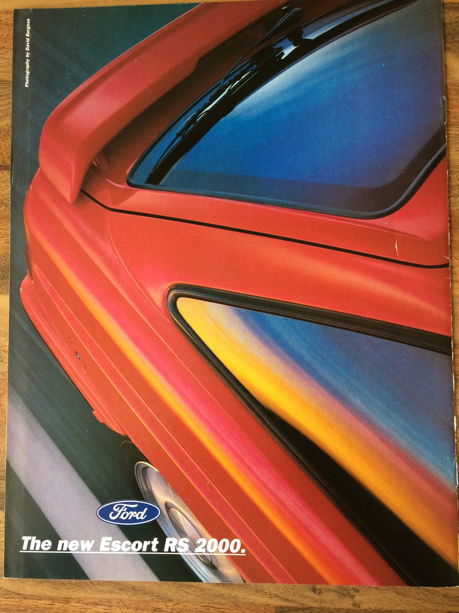 Ford Escort RS2000 sales brochure For Sale (picture 1 of 6)