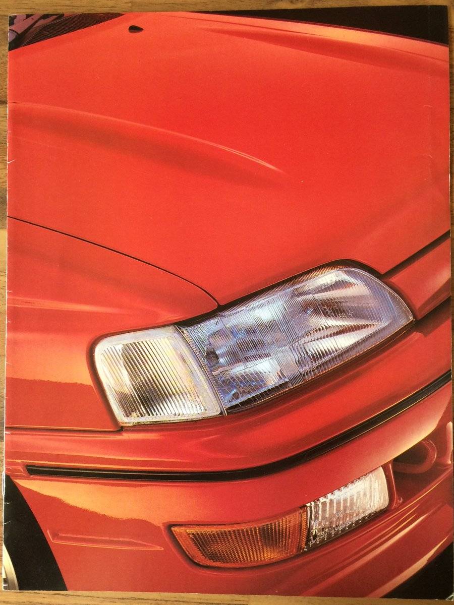 Ford Escort RS2000 sales brochure For Sale (picture 2 of 6)