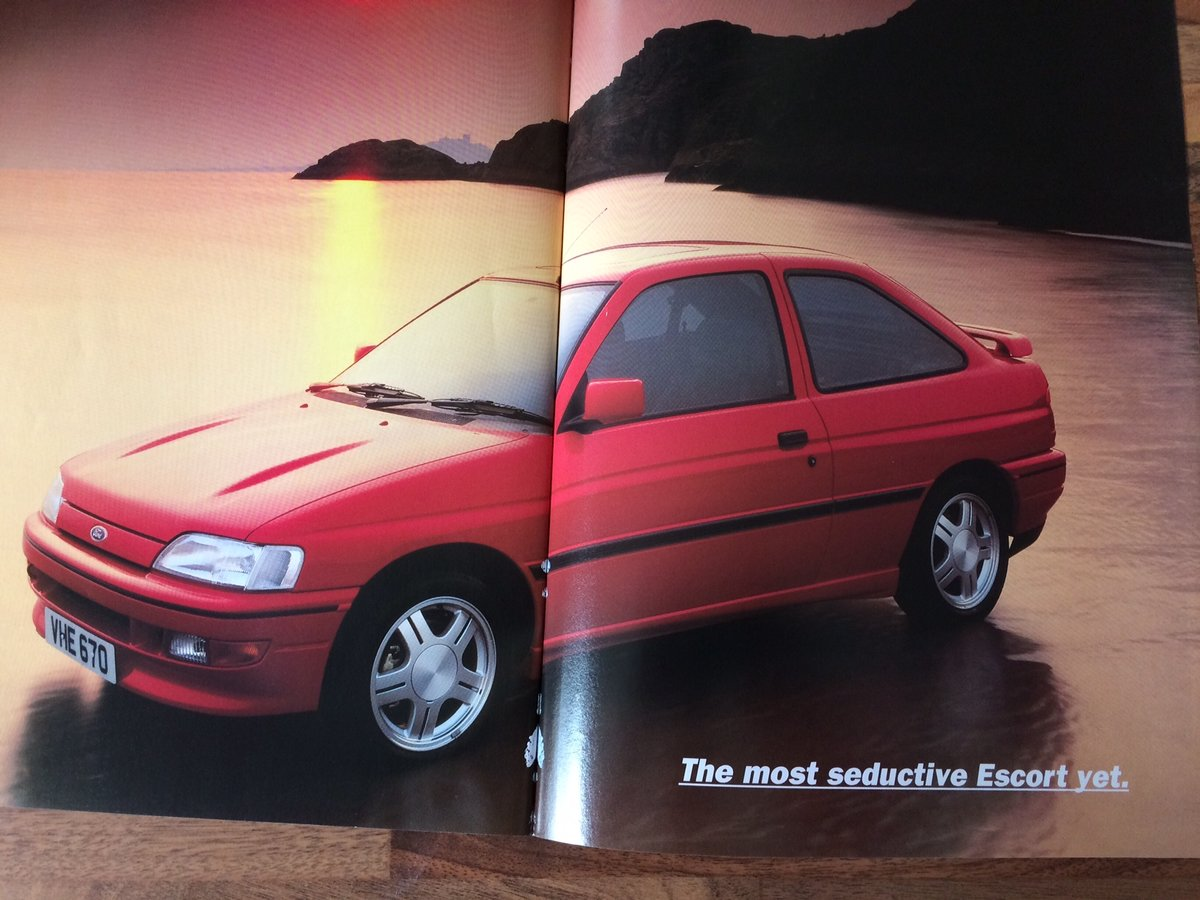 Ford Escort RS2000 sales brochure For Sale (picture 6 of 6)