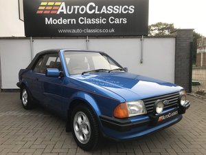 1984 Ford Escort 1.6i Convertible, 64,000 Miles