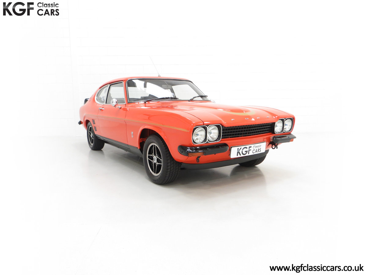 1974 A Genuine Rare Ford Capri RS3100 Extensively Featured For Sale (picture 1 of 24)