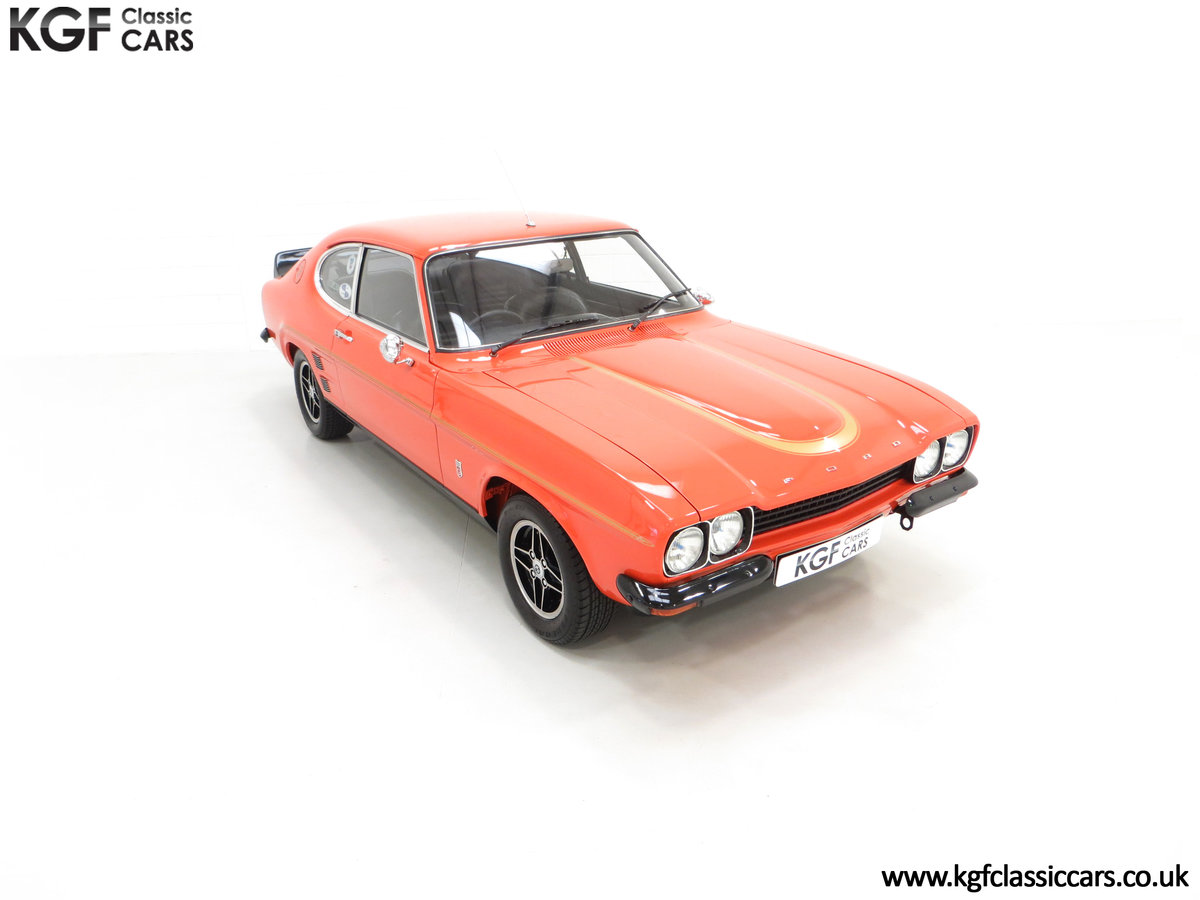 1974 A Genuine Rare Ford Capri RS3100 Extensively Featured For Sale (picture 2 of 24)