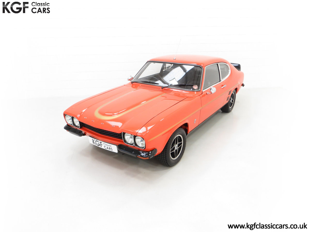 1974 A Genuine Rare Ford Capri RS3100 Extensively Featured For Sale (picture 5 of 24)