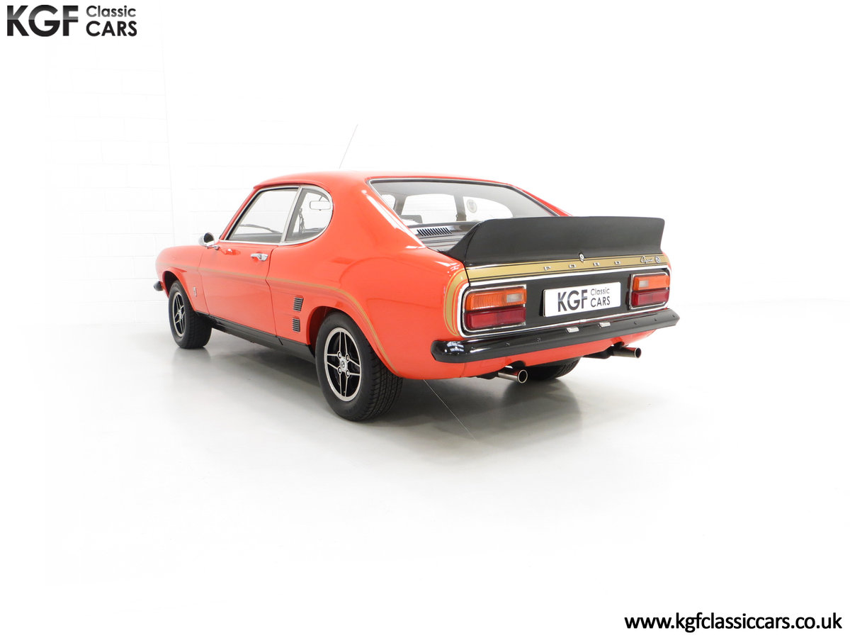 1974 A Genuine Rare Ford Capri RS3100 Extensively Featured For Sale (picture 8 of 24)