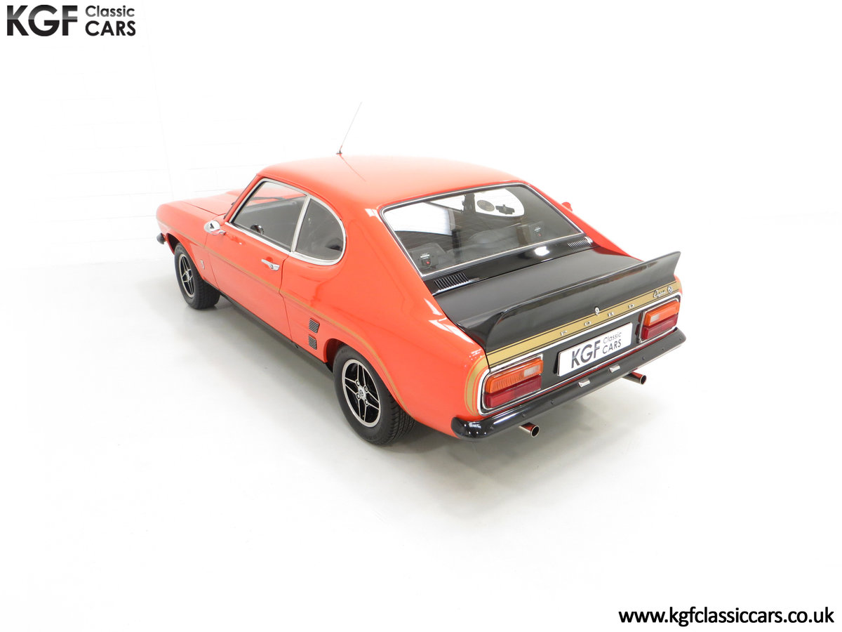 1974 A Genuine Rare Ford Capri RS3100 Extensively Featured For Sale (picture 9 of 24)