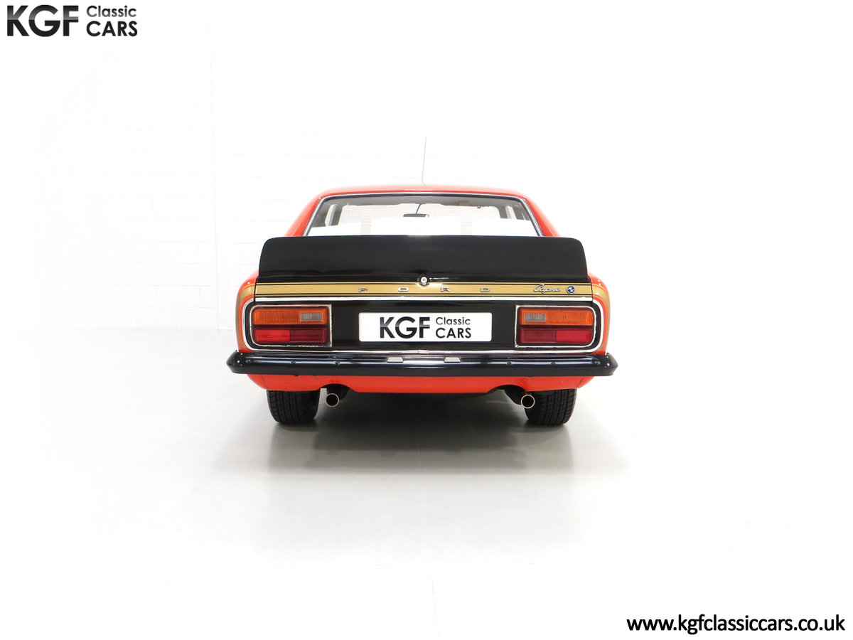 1974 A Genuine Rare Ford Capri RS3100 Extensively Featured For Sale (picture 10 of 24)
