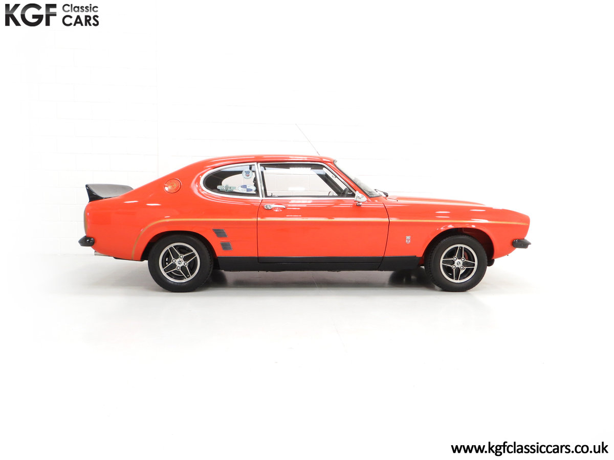 1974 A Genuine Rare Ford Capri RS3100 Extensively Featured For Sale (picture 14 of 24)