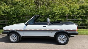 Picture of 1983 FORD FIESTA XR2 FLY-CRAYFORD CONVERTIBLE.  EXTREMELY RARE!