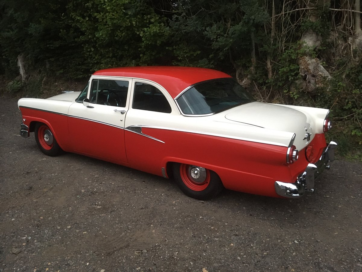 1956 Ford Customline V8 Auto Coupe For Sale (picture 3 of 6)