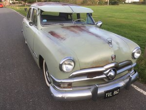 1950 FORD SHOEBOX V8 MANUAL