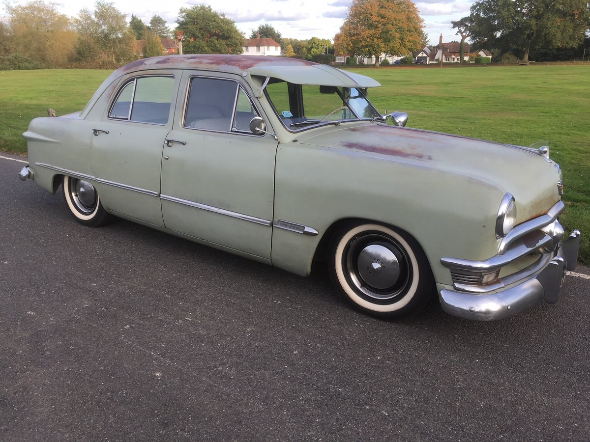 1950 FORD SHOEBOX V8 MANUAL  For Sale (picture 2 of 6)