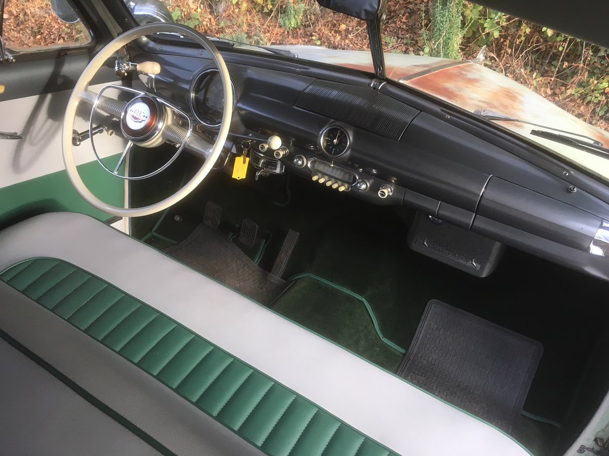 1950 FORD SHOEBOX V8 MANUAL  For Sale (picture 4 of 6)