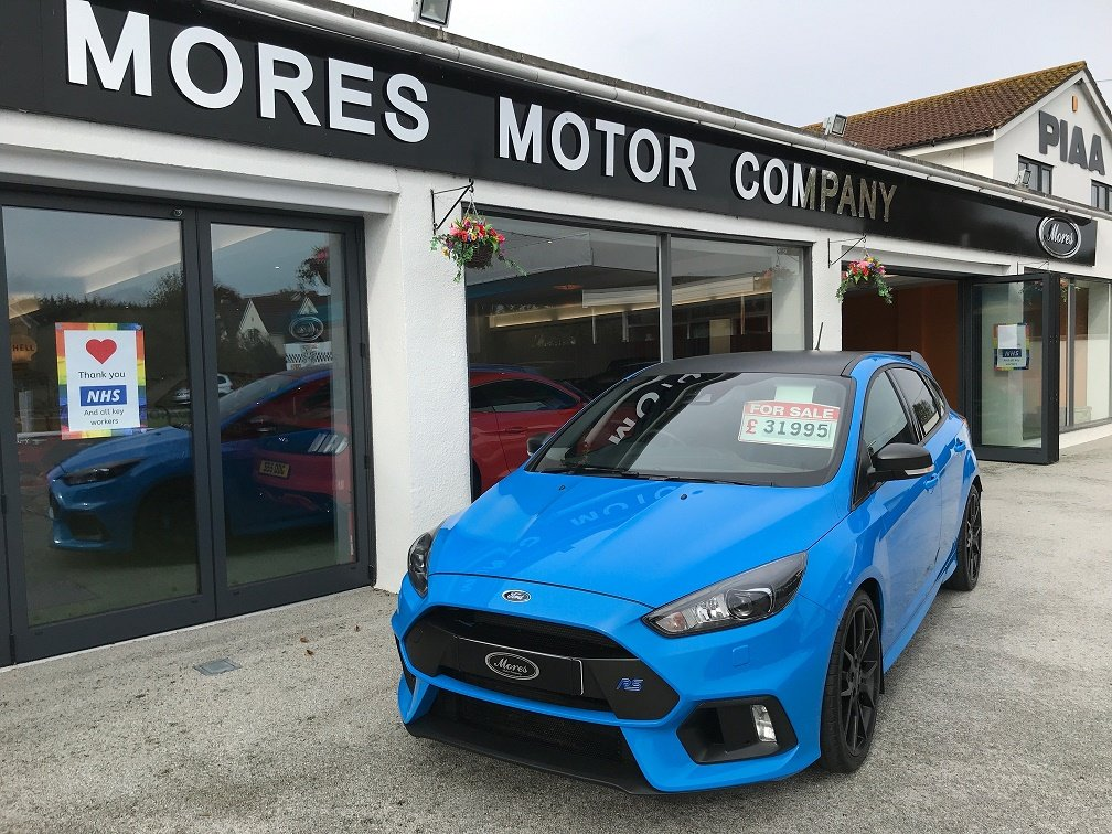 2018 Focus RS MK3 Blue Edition, 17,300 miles SOLD (picture 1 of 6)