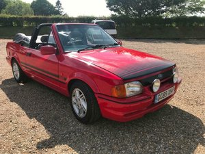 Picture of Stunning Show Standard 1989 MK4 Ford Escort XR3i Cabriolet For Sale