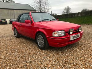 Picture of Stunning Show Quality 1990 MK4 Ford Escort XR3i EFi Cabrio For Sale