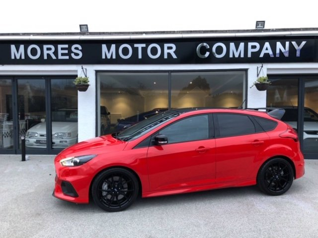 2018 Focus RS MK3 Red Edition As New under 200  Miles For Sale (picture 1 of 12)