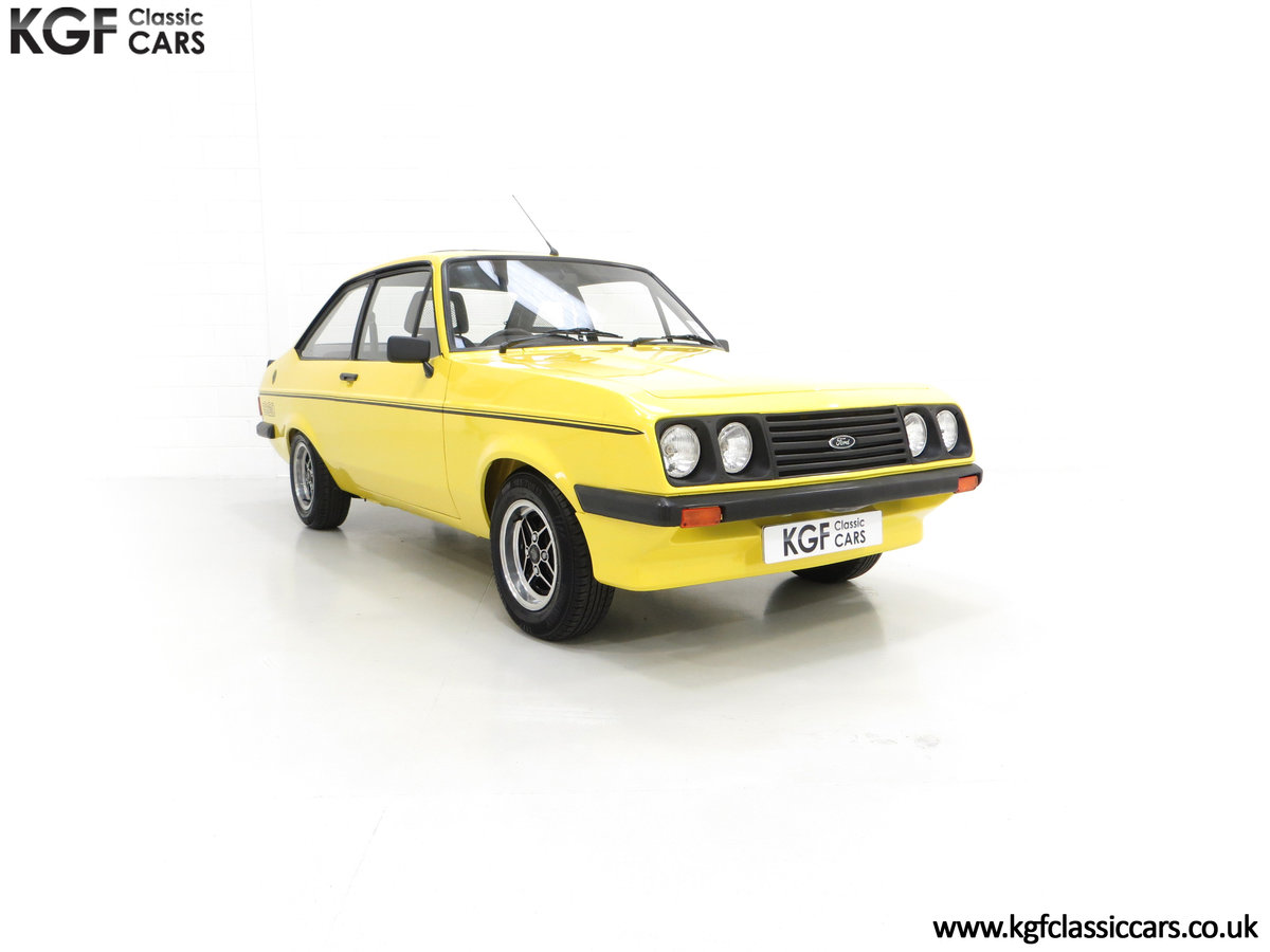 1977 A Genuine Ford Escort Mk2 RS2000 Pre Custom SOLD (picture 1 of 24)