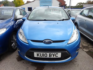 Picture of 2010 FORD FIESTA 1250cc IN BLUE  5 DOOR 5 SPEED PETROL ALLOYS ABS