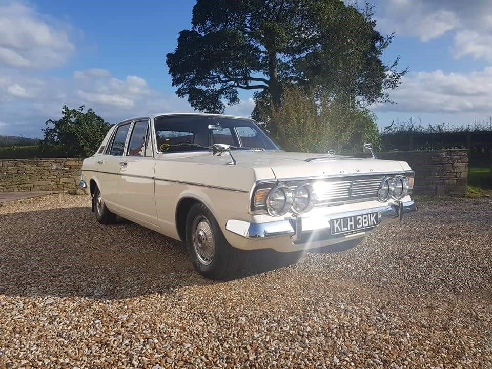 1972 Ford Zodiac MK 4  For Sale (picture 1 of 6)
