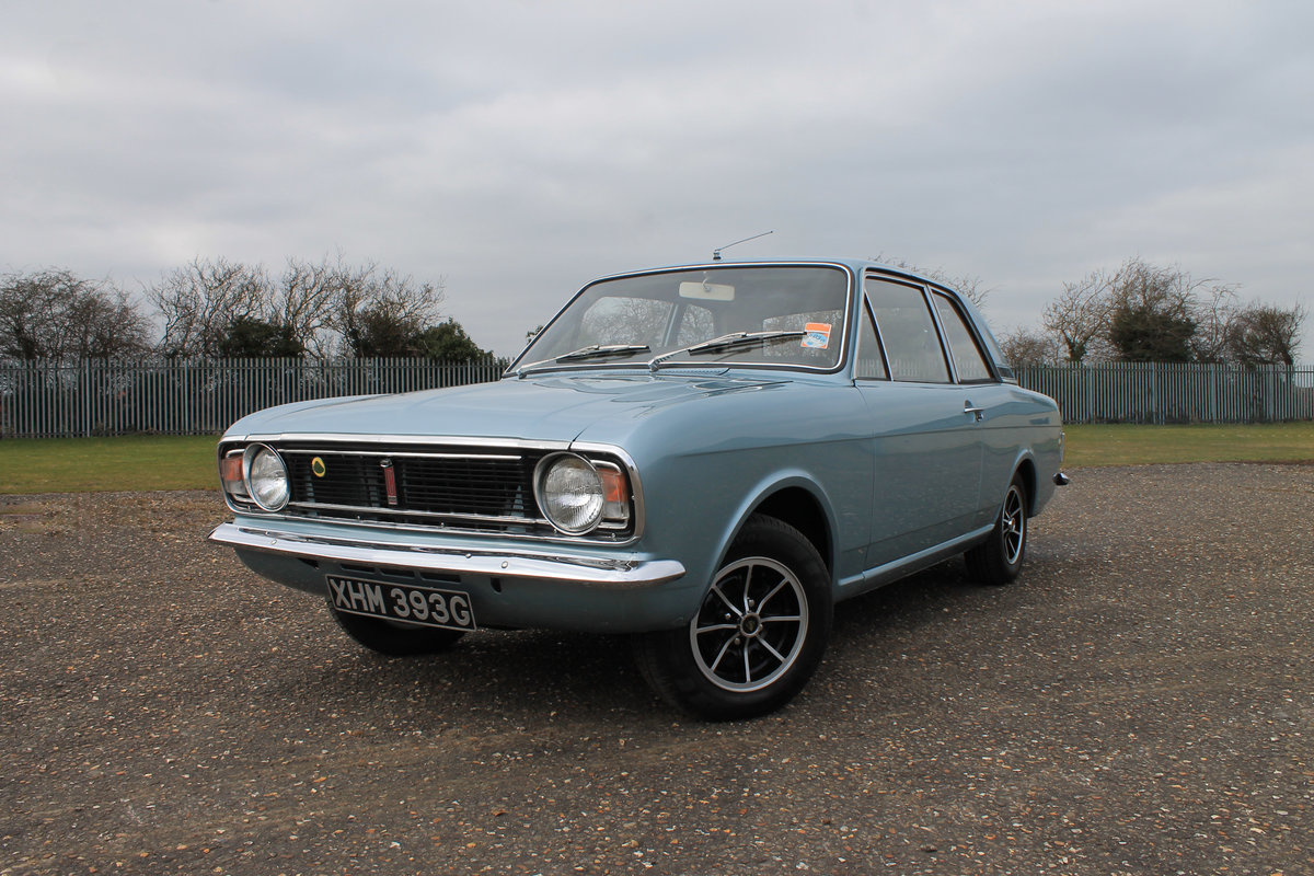 1968 Lotus Cortina MK2 RHD For Sale (picture 1 of 6)