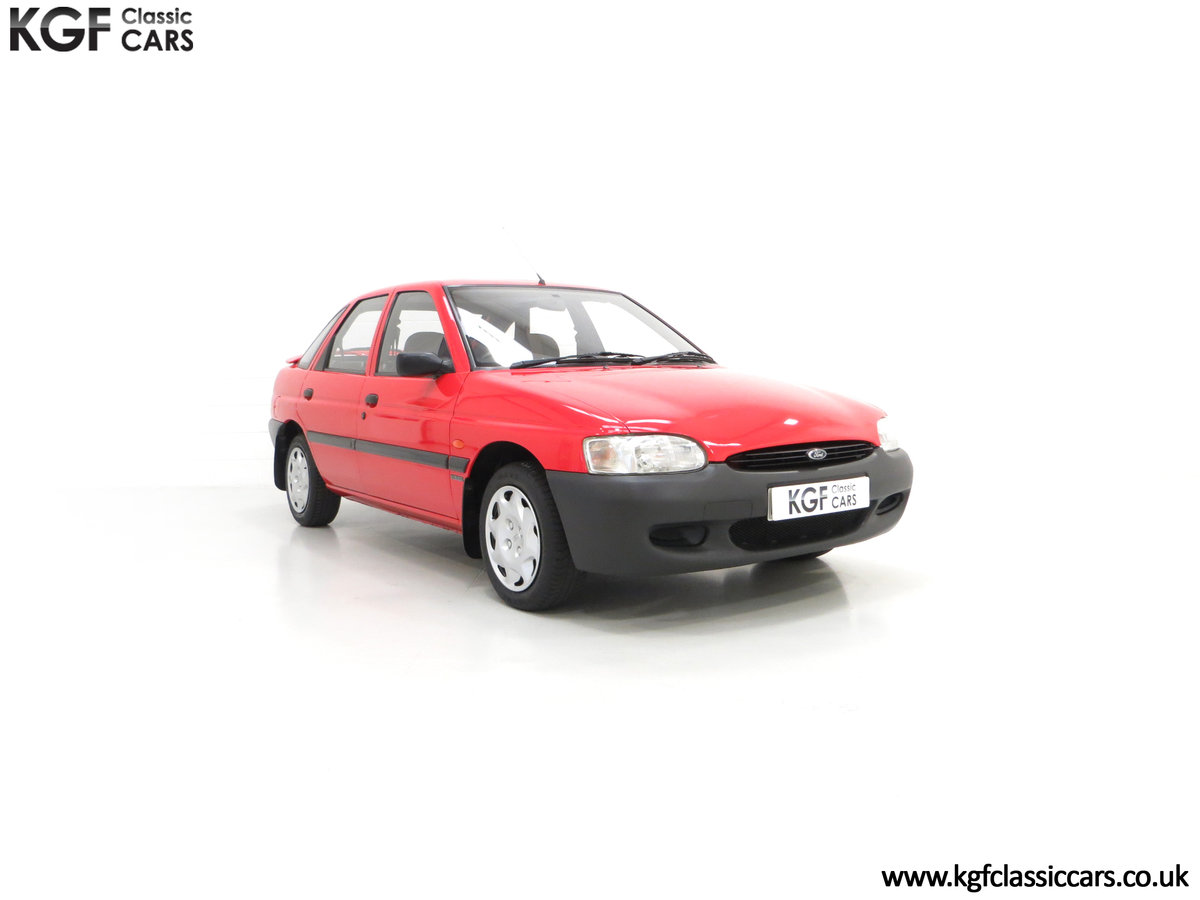 1995 A Super Rare Special Edition Ford Escort Mexico 9,798 Miles SOLD (picture 1 of 24)