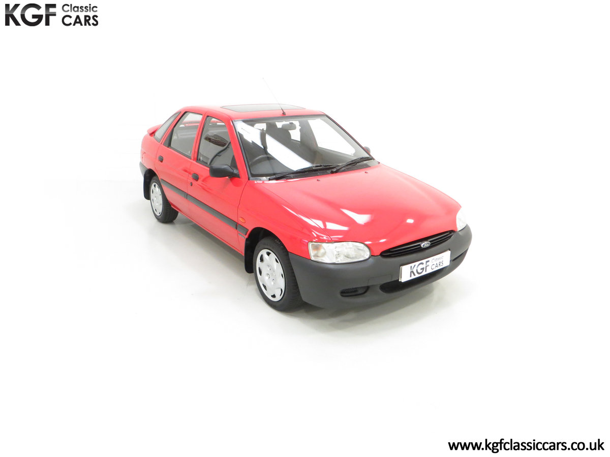 1995 A Super Rare Special Edition Ford Escort Mexico 9,798 Miles SOLD (picture 2 of 24)