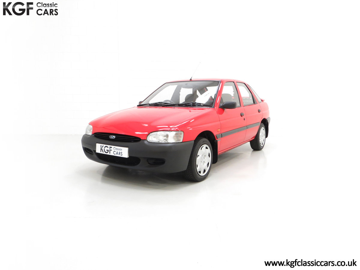1995 A Super Rare Special Edition Ford Escort Mexico 9,798 Miles SOLD (picture 6 of 24)