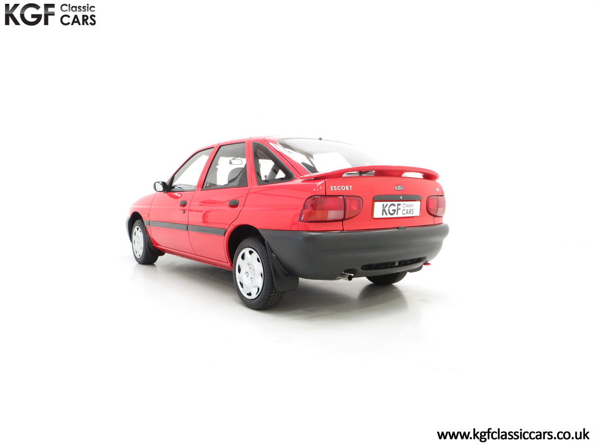1995 A Super Rare Special Edition Ford Escort Mexico 9,798 Miles SOLD (picture 8 of 24)