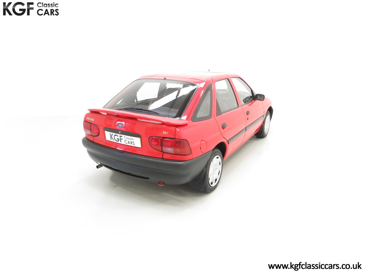 1995 A Super Rare Special Edition Ford Escort Mexico 9,798 Miles SOLD (picture 12 of 24)