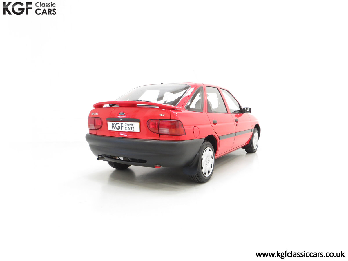 1995 A Super Rare Special Edition Ford Escort Mexico 9,798 Miles SOLD (picture 13 of 24)