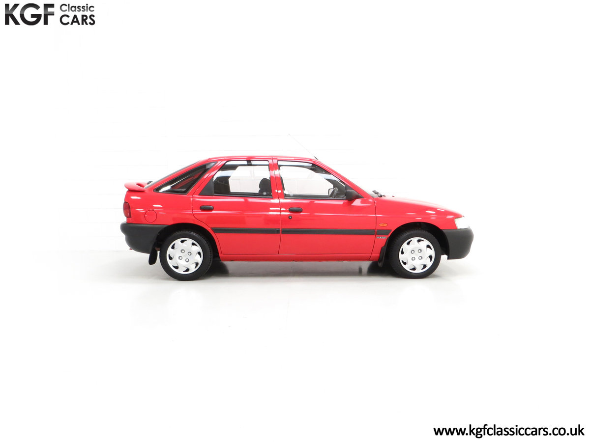 1995 A Super Rare Special Edition Ford Escort Mexico 9,798 Miles SOLD (picture 14 of 24)