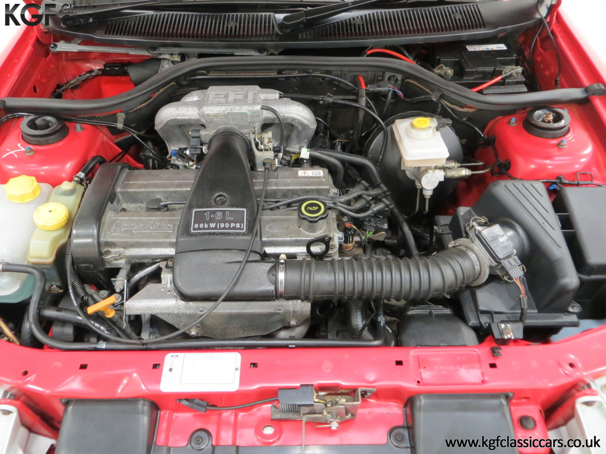 1995 A Super Rare Special Edition Ford Escort Mexico 9,798 Miles SOLD (picture 15 of 24)