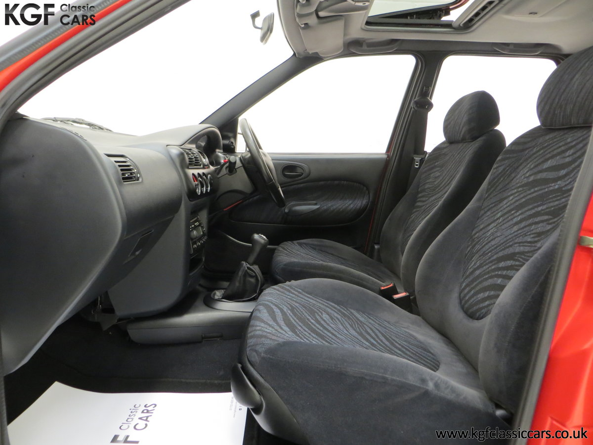 1995 A Super Rare Special Edition Ford Escort Mexico 9,798 Miles SOLD (picture 19 of 24)
