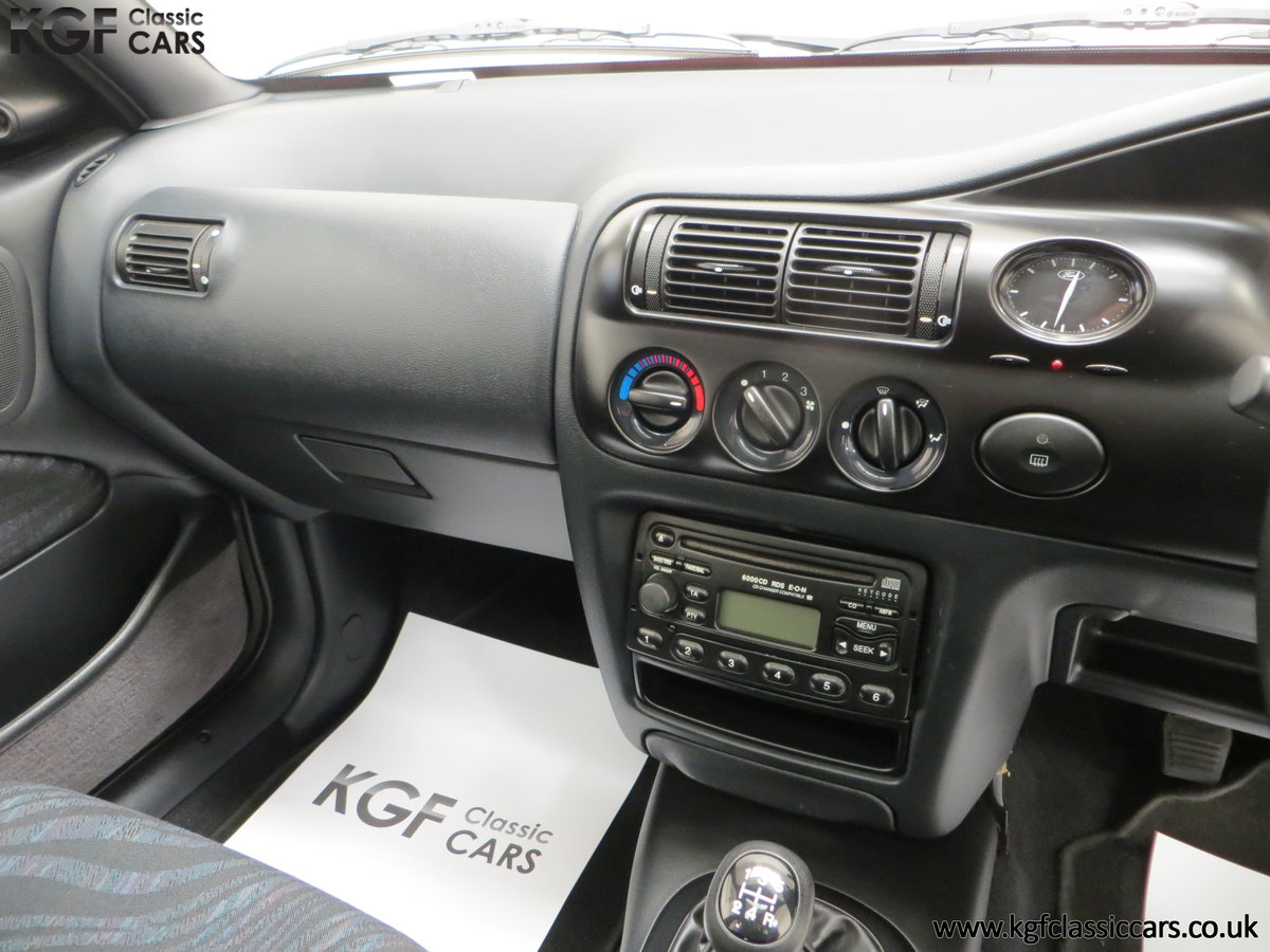 1995 A Super Rare Special Edition Ford Escort Mexico 9,798 Miles SOLD (picture 23 of 24)