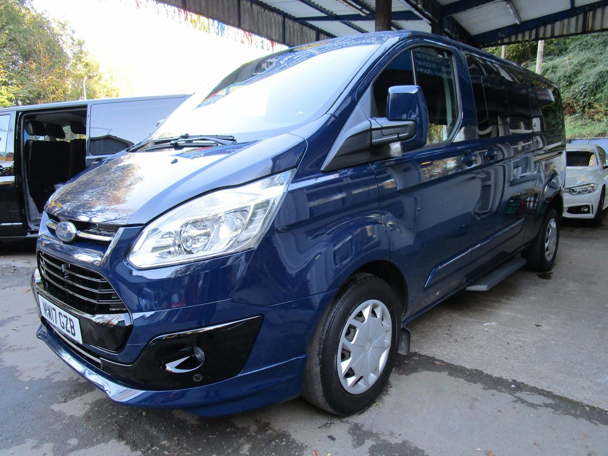2017/17 FORD TRANSIT TOURNEO Zetec 2.0 TDCI 130 BHP LWB 8 For Sale (picture 1 of 6)