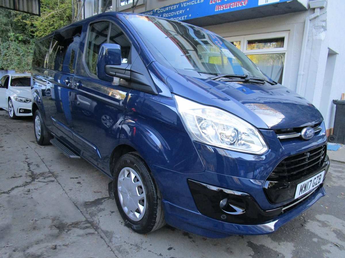 2017/17 FORD TRANSIT TOURNEO Zetec 2.0 TDCI 130 BHP LWB 8 For Sale (picture 2 of 6)