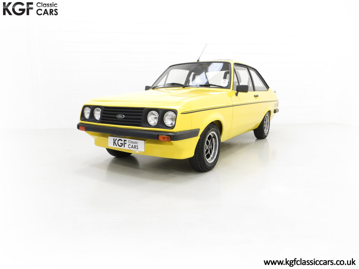 1977 A Genuine Ford Escort Mk2 RS2000 Pre Custom SOLD (picture 4 of 24)