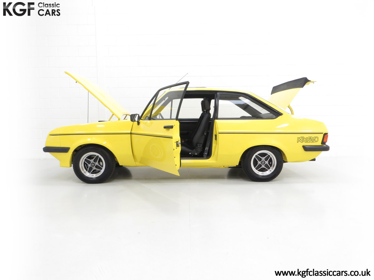 1977 A Genuine Ford Escort Mk2 RS2000 Pre Custom SOLD (picture 5 of 24)