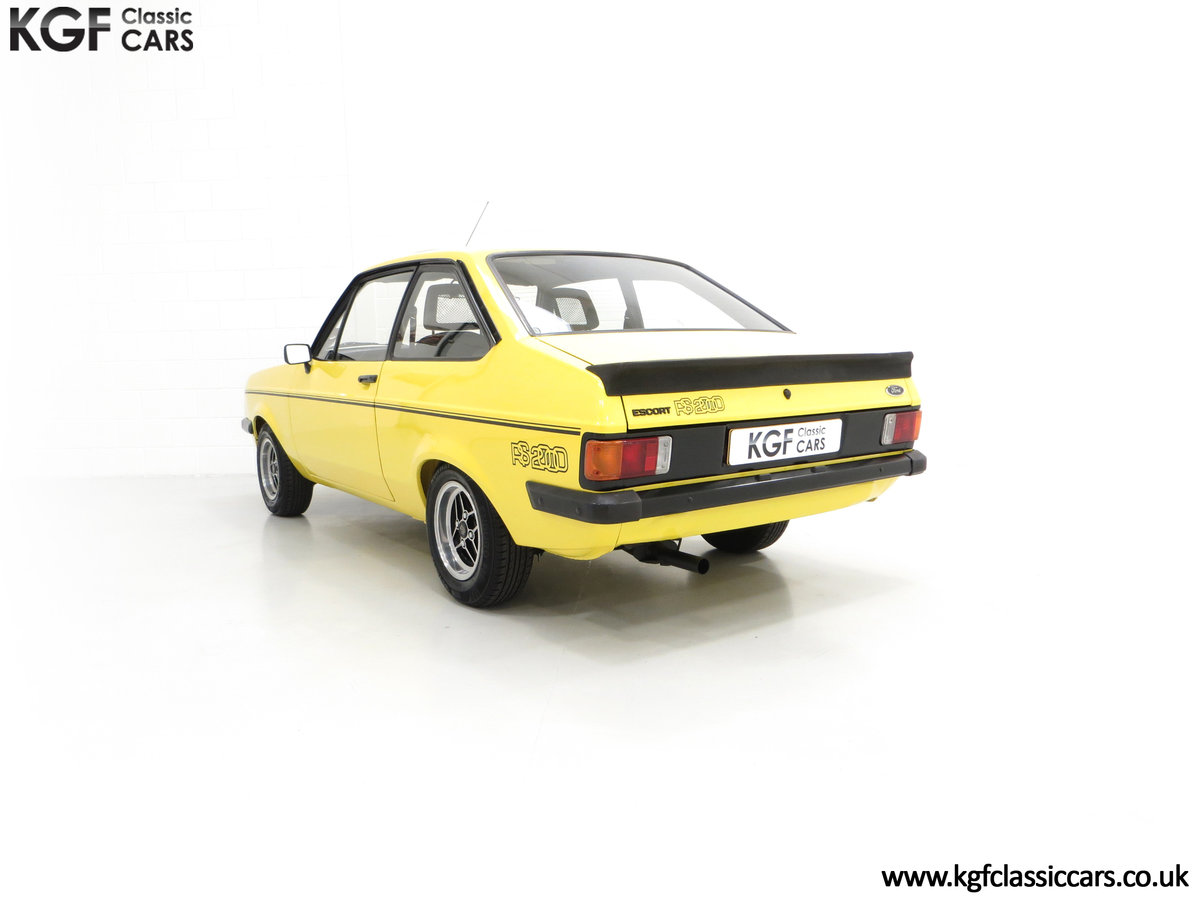 1977 A Genuine Ford Escort Mk2 RS2000 Pre Custom SOLD (picture 6 of 24)