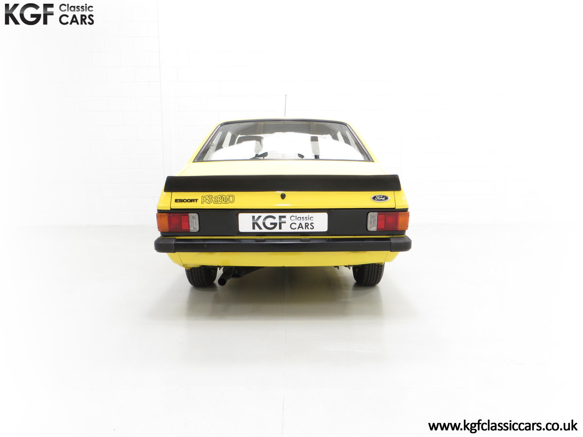 1977 A Genuine Ford Escort Mk2 RS2000 Pre Custom SOLD (picture 7 of 24)