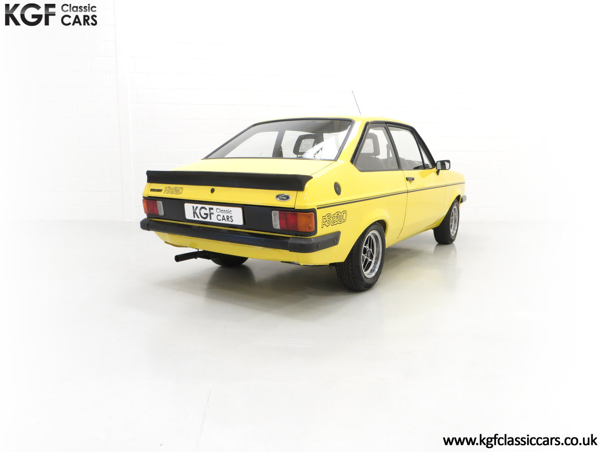 1977 A Genuine Ford Escort Mk2 RS2000 Pre Custom SOLD (picture 9 of 24)
